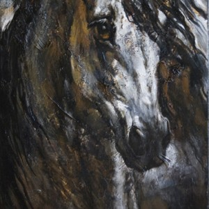 """Portrait of a galloping horse"" (free for sale)"