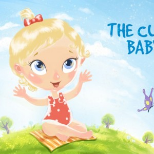 "Children's Picture Book ""The cute baby"""
